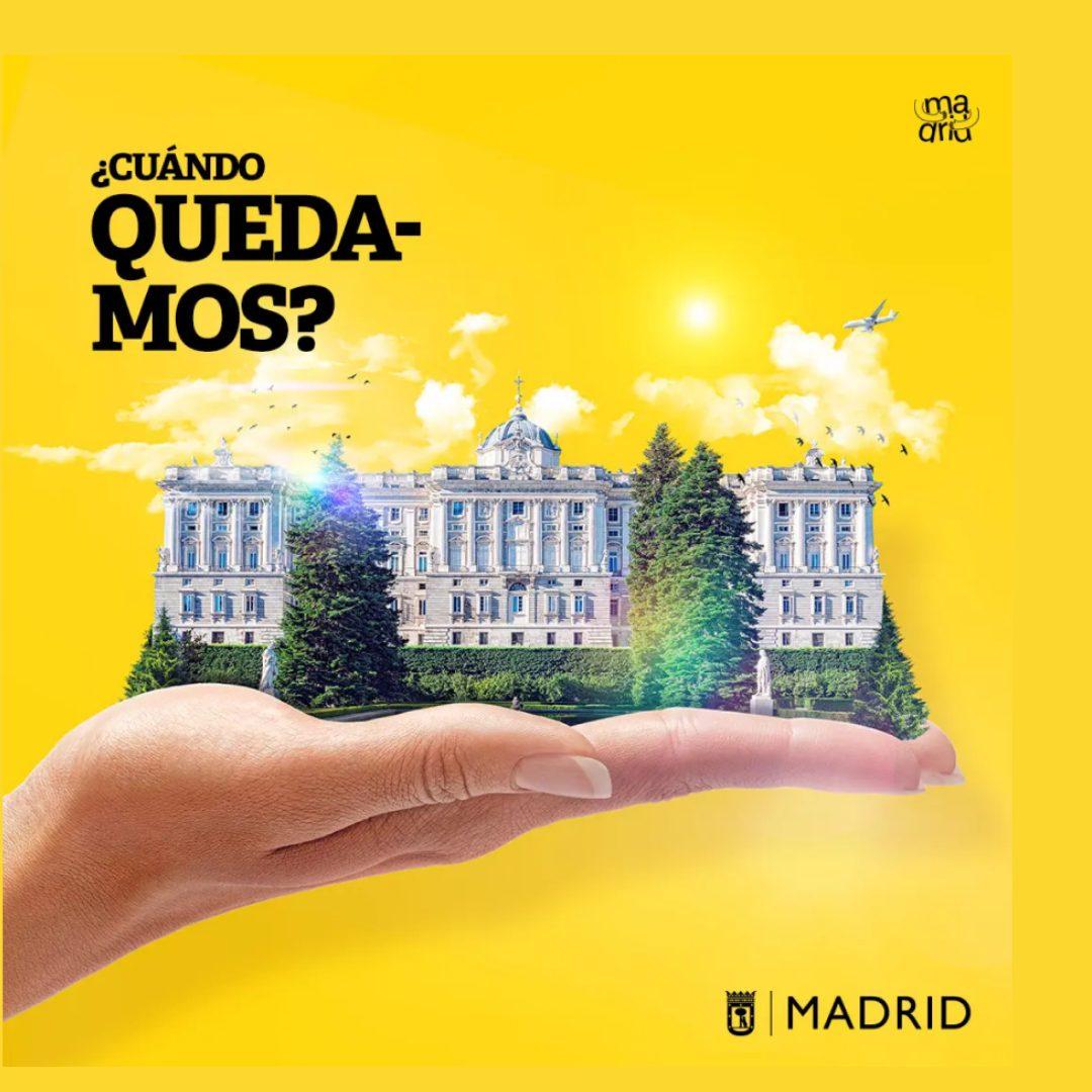 ¿Cuándo quedas con Madrid?